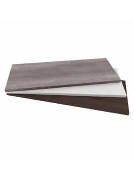 Top in legno 80x55,8